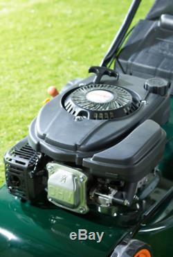 118cc Q GARDEN Petrol Lawnmower self Propelled 18 cut 55 ltr COLLECT ONLY CW1
