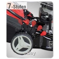 18 Self-propelled Petrol Lawn Mower 5 In 1 173cc Width 46cm Scheppach Ms173-46