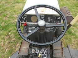 1970's Howard Bolens tractor mower. All original paint/stickers. New battery, runs