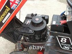 1983 Vintage Westwood Gazelle W8E ride on Lawnmower garden tractor
