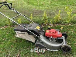 2016 Honda Hrd536 Self Propelled Roller Petrol Lawn Mower