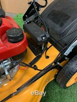 21 Petrol Lawnmower Self Propelled Electric Start 196cc 4 Stroke Lawn mower
