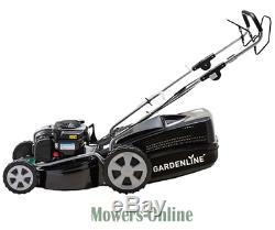 AL-KO Gardenline GL46 SP Self Propelled 18 inch Petrol Lawnmower GRADED