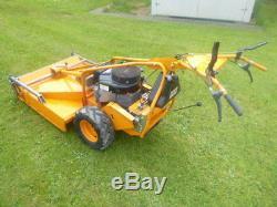 AS Motor self propelled rotary mower Briggs 14hp cut 5 speed scag hayter condor
