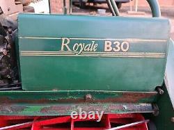 ATCO BALMORAL ROYALE b30 SELF PROPELLED SIT ON LAWN MOWER