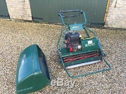 ATCO Royale B30E IC 6.5HP Petrol Self Propelled Cylinder Mower Vgc