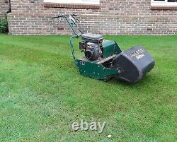 Allett Buffalo 24 inch cut petrol lawn mower