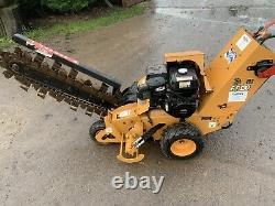 Astec Rt130 Self Propelled Petrol Trencher Trenching Machine -only 61hrs Use