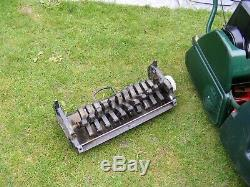 Atco Balmoral 17s Petrol Self Propelled Cylinder Rear Roller Mower Scarifier