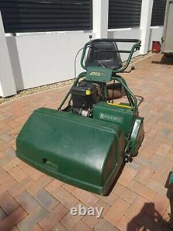 Atco Royale 30E I/C Petrol Cylinder ride on Lawnmower with Grass Box