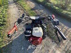 BCS 630 Max petrol Scythe Mower Sickle Bar 2 Wheel Tractor Honda Gx270 9hp