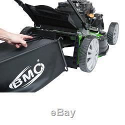 BMC 20 Petrol Lawn Mower 4in1 173cc WOLF Engine SELF PROPELLED 4 STROKE