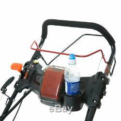 BMC 21 525mm ELECTRIC START Self Propelled WOLF 6.5HP Petrol Lawn Mower Mulch