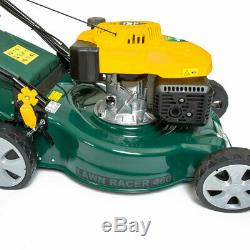 BMC 460 18 4HP 141cc Self Propelled 4 Stroke Petrol Lawn Mower Turbo Vac