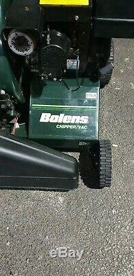 BOLENS CHIPPER/VAC USED in FULL WORKING ORDER FULLY SERVICED -SELF PROPELLED