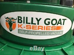 Billy Goat KV600SP Wheeled Vacuum Self Propelled with Hose Kit Fitted