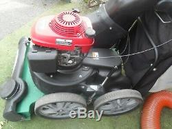Billy Goat MV650SPH Honda 6.5HP Petrol Self Propelled Leaf Vacuum Professional