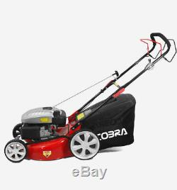 COBRA M51SPC 20 Self Propelled Mulching Lawn Mower Petrol Garden Lawnmower NEW