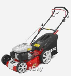 Cobra M51SPC 20 inch Petrol Self Propelled Mulching Lawn Mower 2yr warranty