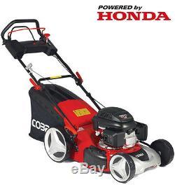 Cobra MX46SPH 18 Self Propelled Lawnmower 4in1 HONDA Engine. Free Postage