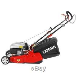 Cobra RM46SPC Lawnmower Rear Roller Self Propelled FREE 4 Stroke Engine Oil