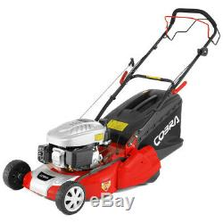 Cobra RM46SPC Petrol Self-Propelled Lawn Mower Rear Roller