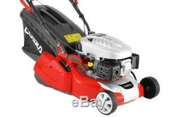 Cobra Rm40spc 16 Rear Roller Lawn Mower Self Propelled With Free Engine Oil