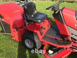 Countax C300H Petrol Ride On Mower 36 With Rear Discharge Sweeper & Collector