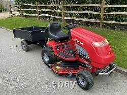 Countax C400H Ride On Mower + Collector + Trailer