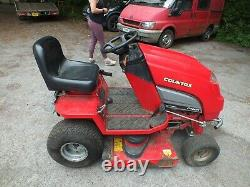 Countax C400H Ride on mower with mulching cutter honda engine