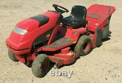 Countax C600HE Ride On Tractor Lawn Mower Grass Box Roller Spares or Repair
