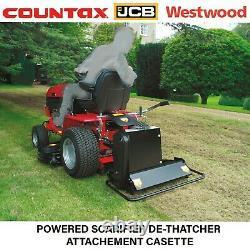 Countax Westwood Jcb Powered Scarifier Ride On Mower Garden Tractor Scarifier