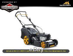 EX McCulloch M53 875 CMDW-R Self-Propelled Lawnmower 190cc 53cm MetalBlade 60L