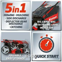Einhell 173cc 56cm Self Propelled Petrol Lawnmower GC PM56SHW