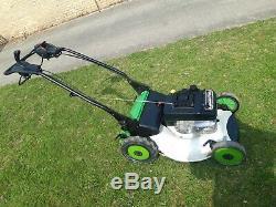 Etesia professional self propelled pedestrian lawnmower mower hayter viking