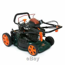 ExDemo BMC 21 / 53cm Petrol Lawnmower 190cc Self Propelled ELECTRIC START