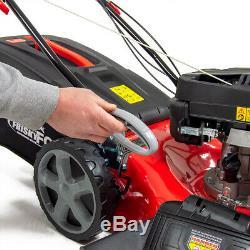 ExDemo Frisky Fox Lawn Mower Petrol Self Propelled 51cm 20 173cc Recoil Start