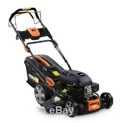 Feider T4640ES 4-in-1 Self-Propelled Petrol Lawnmower with Electric