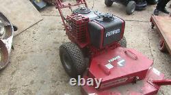 Ferris 48 inch hydrowalk walk behind rough cut mower brushcutter 15hp engine