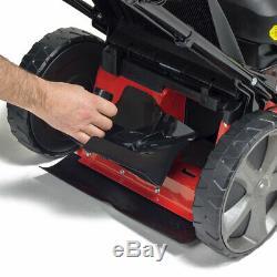 Frisky Fox PLUS Lawn Mower Petrol Self Propelled 4 Blade Quad-Cut 20 51cm