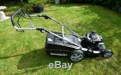 GARDENLINE Briggs & Stratton 46cm self propelled petrol lawnmower. Guaranteed