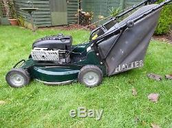 HAYTER RANGER 53PRO SELF PROPELLED 53cm 21 ROTARY PETROL LAWNMOWER & BOX