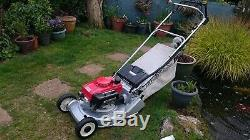HONDA HR 194 QX 19 Self Propelled RotoStop Blade Steel Rear Roller Lawnmower