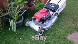 HONDA Hr 194 19 Self Propelled Roto-Stop Steel Rear Roller Petrol Lawnmower