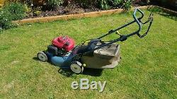HONDA IZY 18 self propelled LAWNMOWER. NEW GENUINE CHASSIS AND BLADE SERVICED