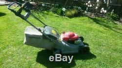 HONDA SELF PROPELLED PETROL LAWN MOWER HRB 475 with ROLLER EASTBOURNE