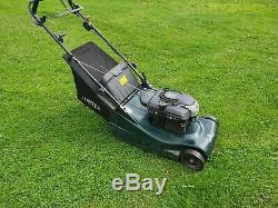 Hayter 48. 19inch cut. Self propelled. Rear roller, petrol, lawnmower