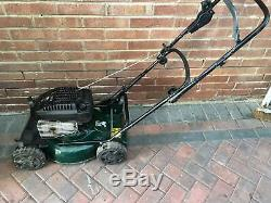Hayter Clipper AutoDrive self propelled petrol mulching lawn mower