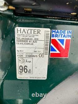Hayter Harrier 41 (412H) Electric Start Lawnmower