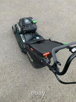 Hayter Harrier 41 ES/VS Petrol Lawnmower With Grass Bag